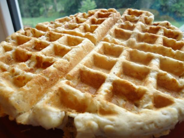 Oatmeal Waffles Norwegian