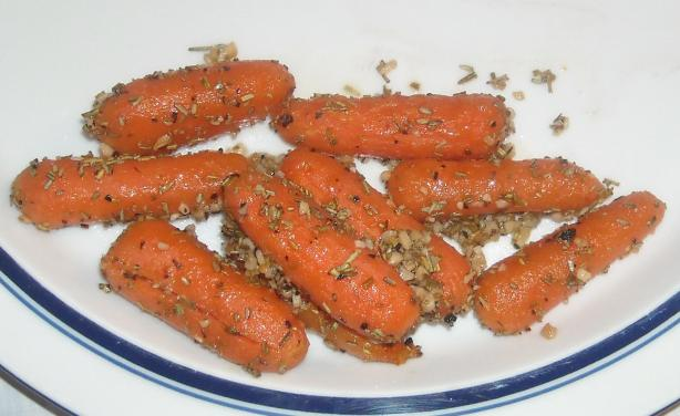 Rosemary-Roasted Carrots