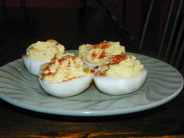 Creamy Ranch Deviled Eggs