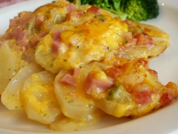 Scalloped Ham and Potatoes
