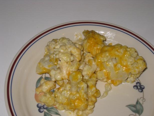 Easy Cheesy Cauliflower