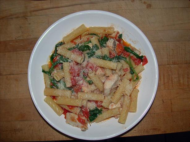 Arugula & Chicken With Pasta