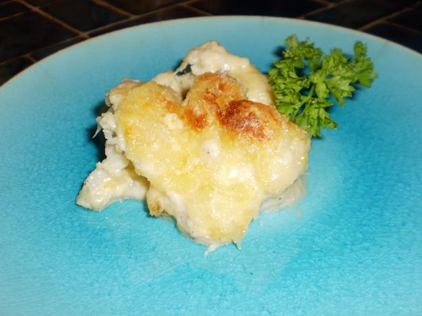 Chef Comerford's Cauliflower Gratin