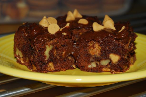 Katzen's Chocolate Peanut Butter Brownies