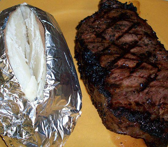 Marinated Grilled Steaks