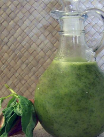 Fresh Basil Vinaigrette