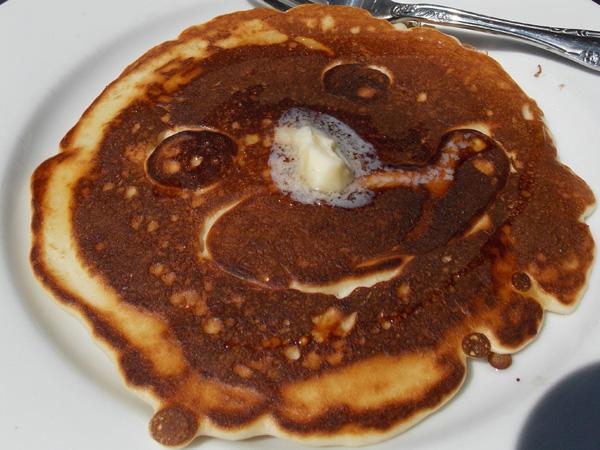 Funny Freckle Face Pancakes