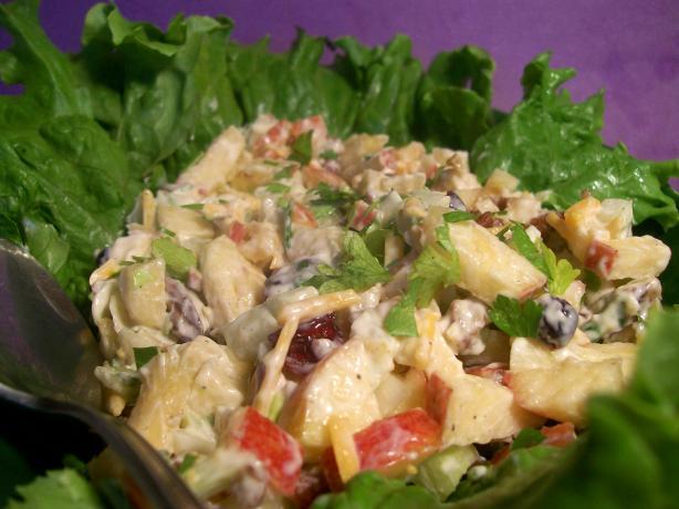 Apple Salad on Lettuce