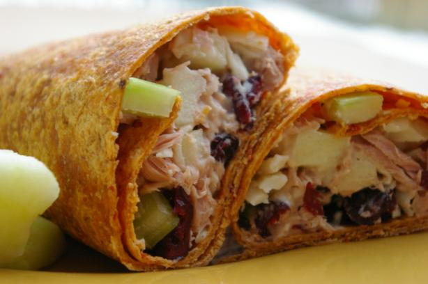Cranberry Tuna Salad Wrap