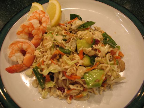 Crunchy Ramen Noodle Salad - Make Ahead