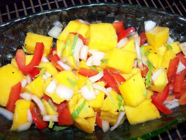 Mild Mango Salad
