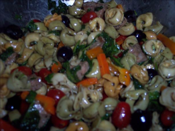 Pasta Salad With Steak in Balsamic Vinaigrette