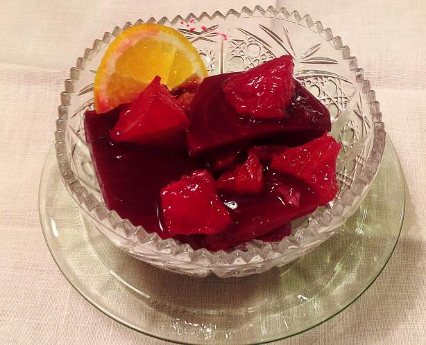 Gingered Beet and Orange Salad