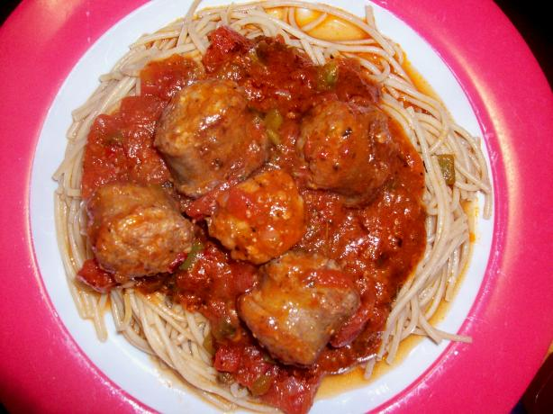 Sausages in Hearty Red Wine Sauce
