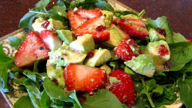 Avocado-Strawberry Salad