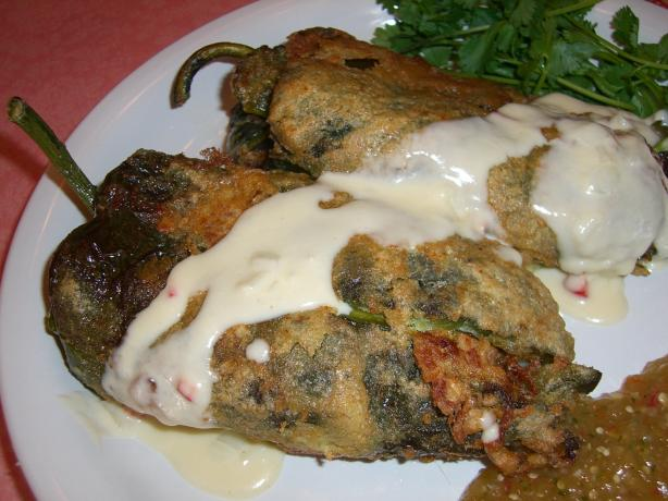 Chile Rellenos With Ground Pork and Tomatoes