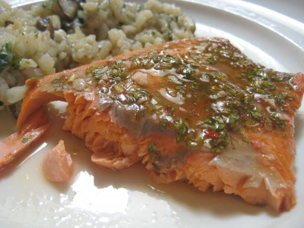 Sweet and Saucy Grilled Salmon