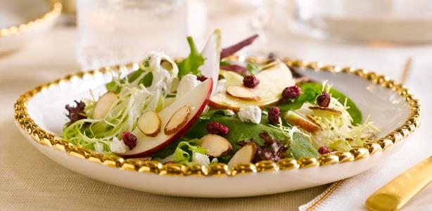 Crunchy Almond Accents Harvest Salad