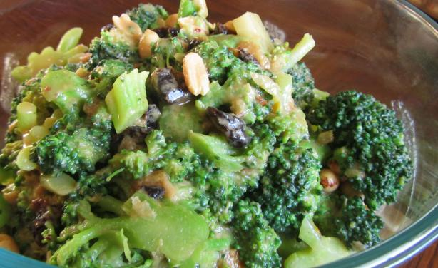 Broccoli Peanut Salad