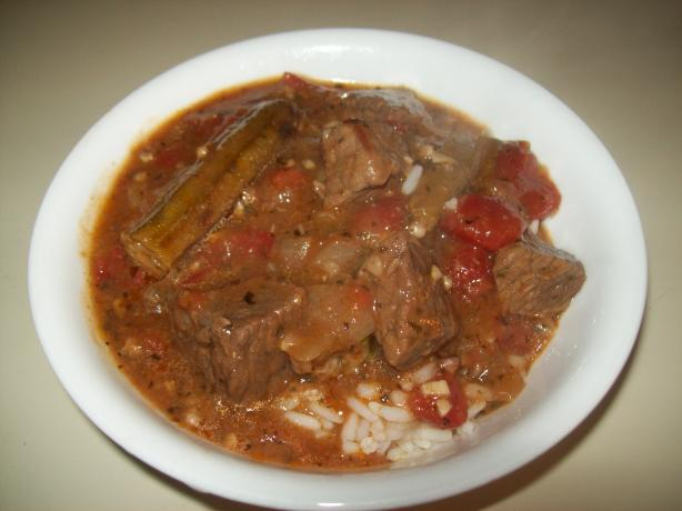 Mia Bamia Arabic Lamb and Okra Stew