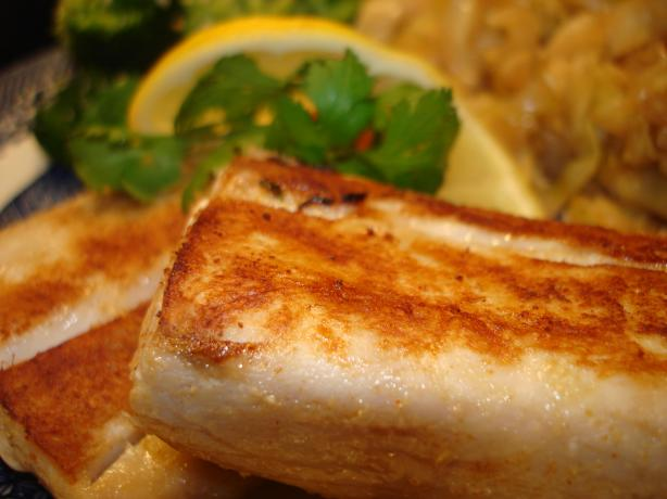 Marinated Mediterranean Fish Fillets