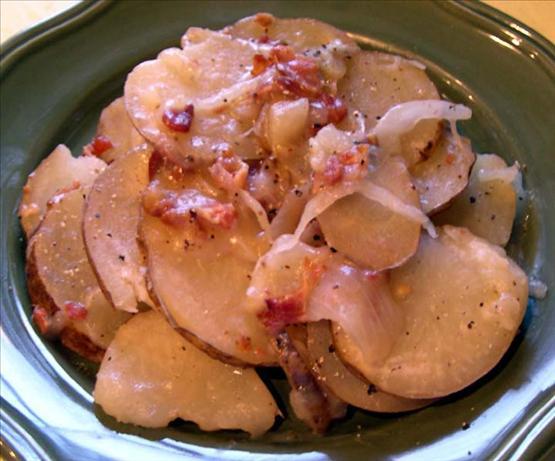 Hot German Potato Salad (Crock Pot)