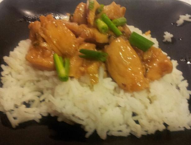 Caramelized Black Pepper Chicken With Jasmine Rice