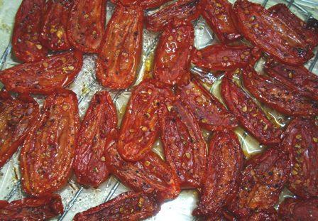Tomates Séchées Au Four (Oven-Dried Tomatoes)
