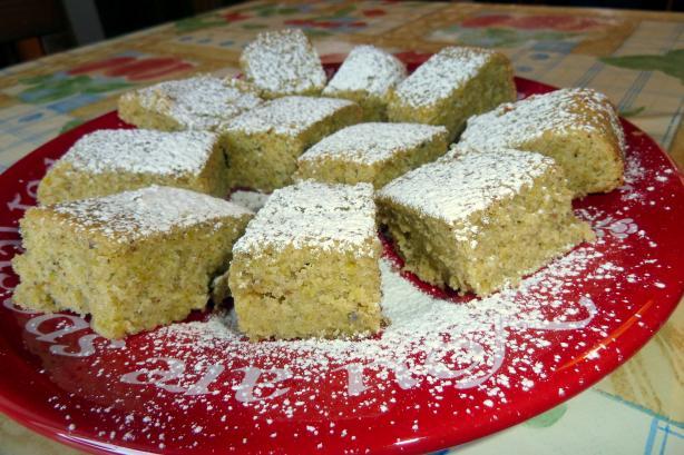 Buttery Pistachio Cake