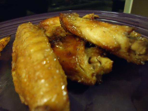 Vietnamese Golden Chicken Wings