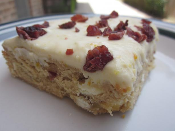 Starbucks Imitation Cranberry Bliss Bars