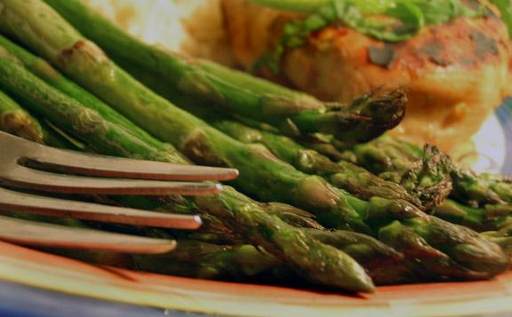 Simple Roasted Asparagus