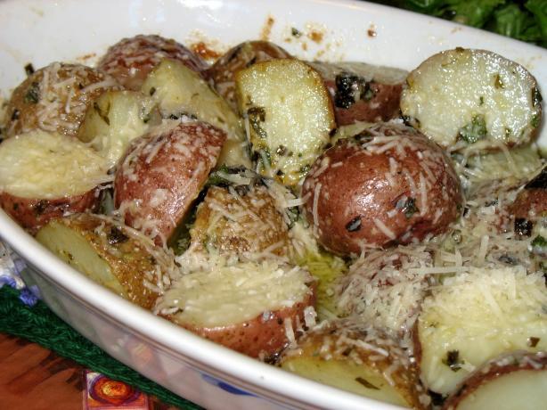 Aioli--style Potatoes