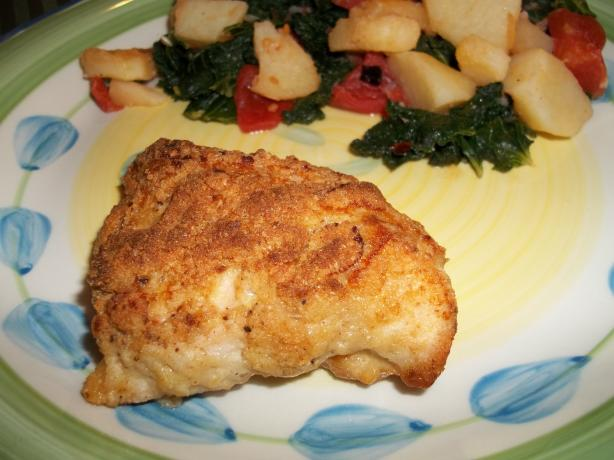 Easy Crispy Dijon Chicken