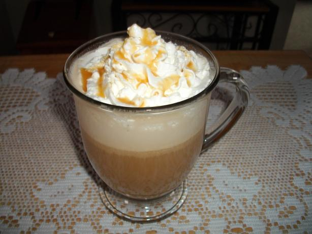 Caramel-Cream Macchiato Coffee