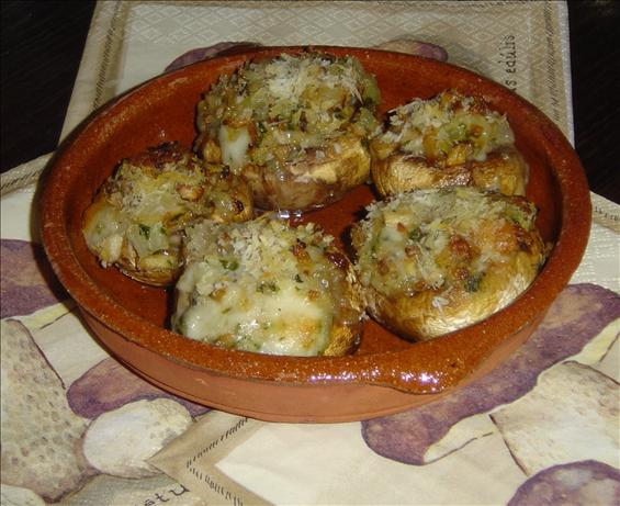 Blue Cheese Mushrooms