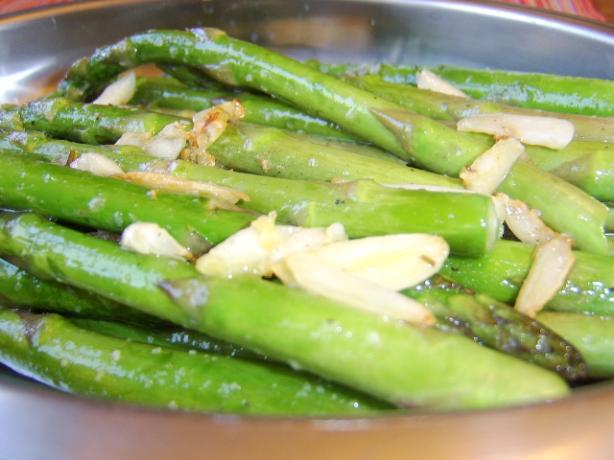 Asparagus and Toasted Garlic