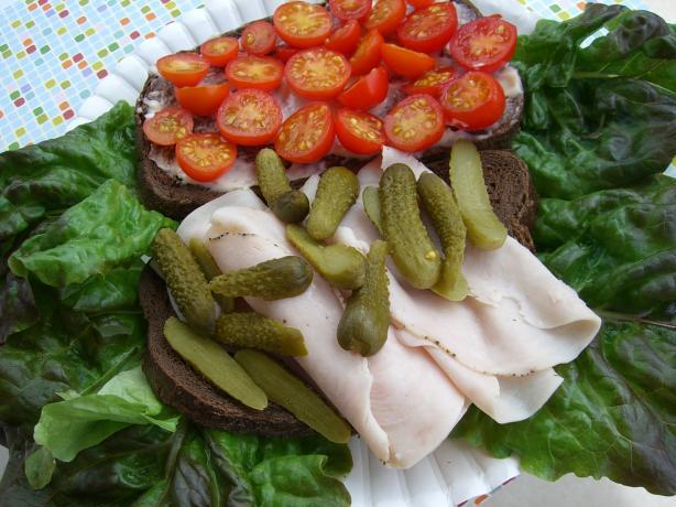 Lucy's Turkey Sandwich