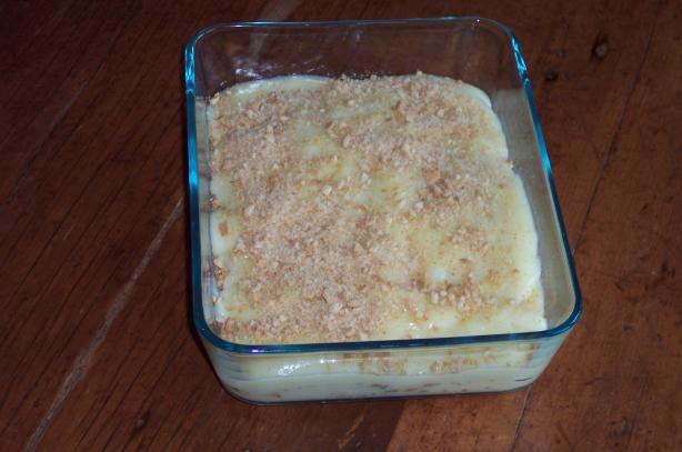Banana Graham Cracker Pudding