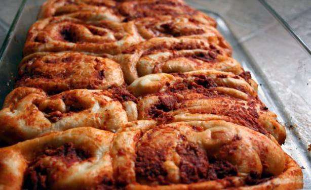 Muffin Pan Pizza Rolls