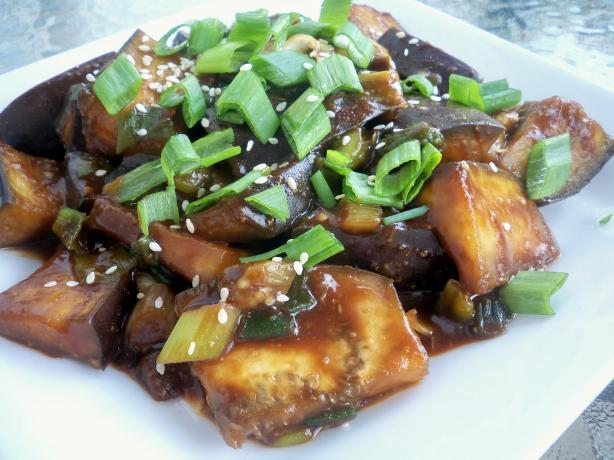 Chinese Garlic Flavor Eggplant