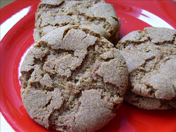 Gingersnaps Like No Other (Find the Secret Ingredient!)