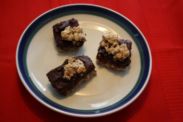 Gluten-Free Oat Fudge Bars (Starbucks Copycat)