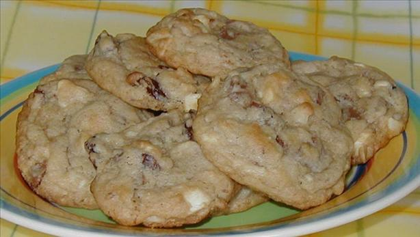 Almost Cherry Garcia Cookies