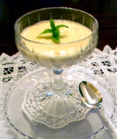 Orange Liqueur Laced Rice Pudding