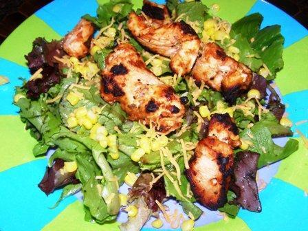 Garlic Chicken on the Grill