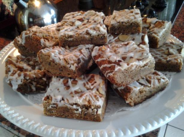 Irish Coffee Bars - Chewy Delicious Blondies