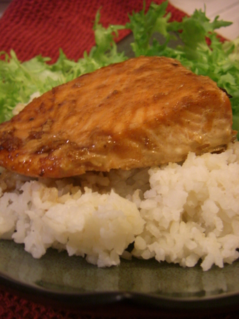 Mika's Honey and Soy Glazed Salmon