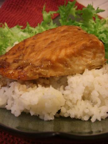 Mika's Honey and Soy Glazed Salmon