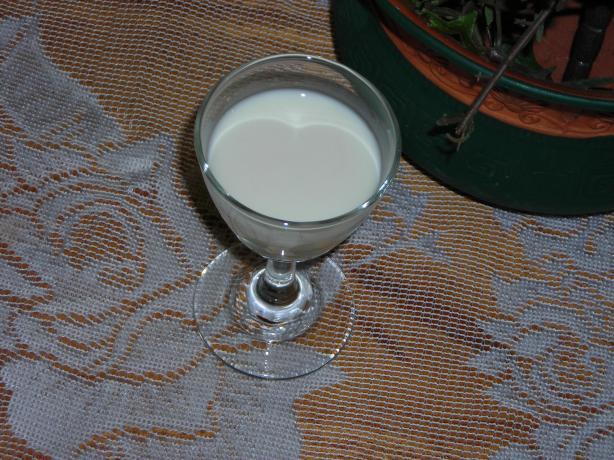 Butter Cream Shot